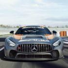 2020 Mercedes-AMG GT4 Wallpaper iphone 1080×1920