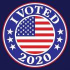 I Voted Sticker 2020